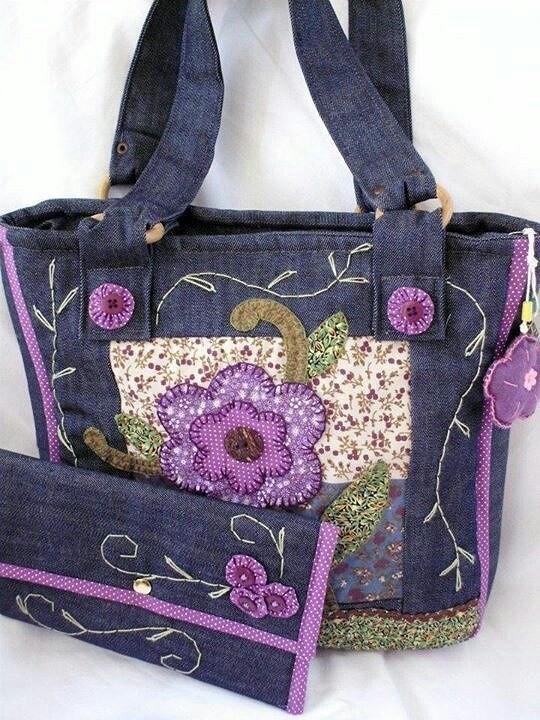 36f99521502 Джинсовые сумки своими руками. Фото и выкройки