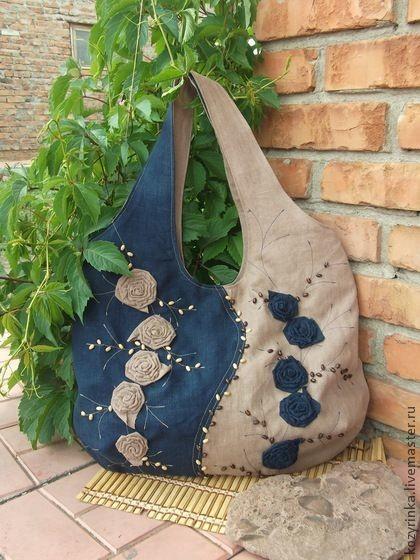 c695854336c5 Джинсовые сумки своими руками. Фото и выкройки